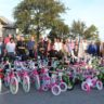 132 Bikes Collected for Toys for Tots