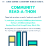 Read-A-Thon Service Project
