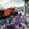 Club Rolls Out 66 Bikes for Toys for Tots
